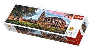 Puzzle TREFL  1000 dílků - panorama - Koloseum za svítání  29030