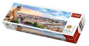 Puzzle TREFL  1000 dílků - panorama - Výhled z Notre Dame  29029