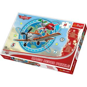 Puzzle TREFL 15 dílků MAXI  Magic Decor -  Letadla 14603