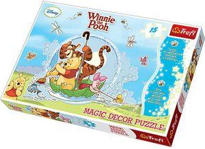 Puzzle TREFL 15 dílků MAXI  Magic Decor -  Medvídek Pú 14602
