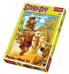 Puzzle Trefl 24 Maxi dílků - Scooby Doo v Egyptě 14233