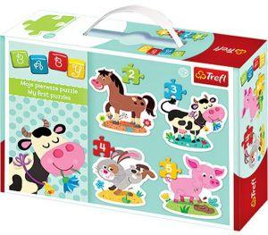 Puzzle Trefl  Baby   Domácí zvířátka   36052