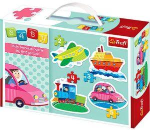 Puzzle Trefl  Baby   Dopravní prostředky   36057