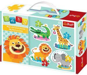 Puzzle Trefl  Baby   Safari   36054