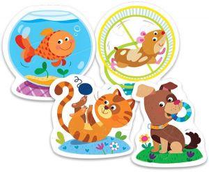 Puzzle Trefl Baby Zvířátka 36053