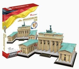 3 D Puzzle CubicFun - Braniborská  brána 150  dílků  20207
