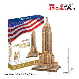 3 D Puzzle CubicFun - Empire State Building  55 d.  21048