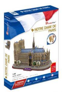 3 D Puzzle CubicFun - Katerdála Notre Dame  XL  128 dílků  21054
