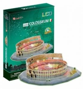 3 D Puzzle CubicFun - Koloseum  185 d. LED  - svítící  20512