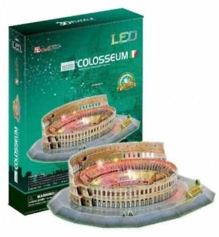 3 D Puzzle CubicFun - Koloseum 185 d. LED - svítící 20512 Cubic Fun
