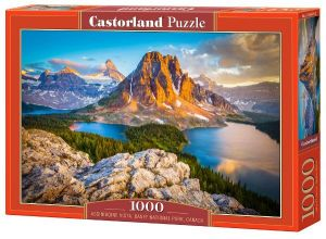 Castorland  puzzle  1000 dílků  Národní park Assiniboine Vista 103423