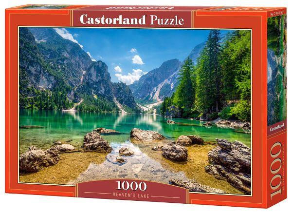 Castorland puzzle 1000 dílků Nebeské jezero 103416