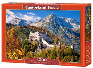 Castorland  puzzle  1000 dílků hrad  Hohenwerfen 103454