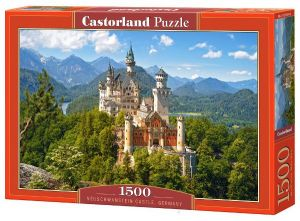 CASTORLAND Puzzle 1500 dílků  Zámek Neuschwanstein  151424