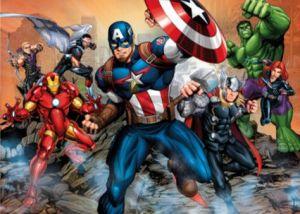 CLEMENTONI Dětské MAXI puzzle  104 dílků  Avengers  23985