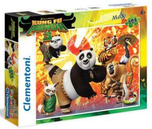 Clementoni Puzzle  104 dílků MAXI - Kung Fu Panda  27959