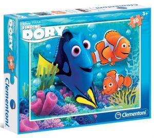 Clementoni puzzle 30 dílků - Hledá se Dory 08511