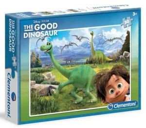 Clementoni puzzle 30 dílků - Hodný dinosaurus   08507