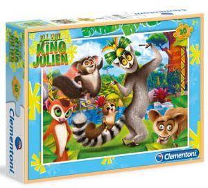 Clementoni puzzle 30 dílků - Král Jelimán  08510