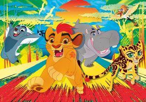 Clementoni puzzle 30 dílků - Lví hlídka   08509