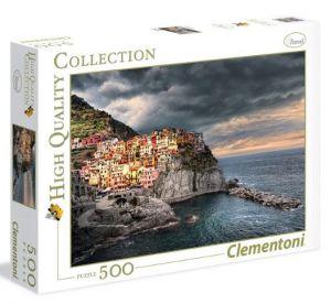 CLEMENTONI Puzzle 500 dílků  Manarola 35021