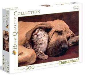 CLEMENTONI Puzzle 500 dílků  Mazlení 35020