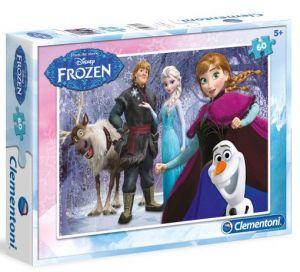Dětské puzzle Clementoni  60 dílků  - Frozen   08413