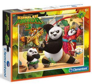 Dětské puzzle Clementoni  60 dílků  - Kung Fu Panda III  08425
