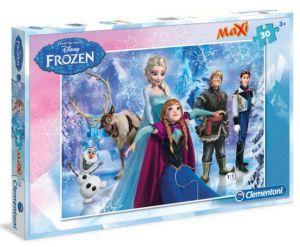 Podlahové puzzle Clementoni 30  dílků MAXI  - Frozen 07418