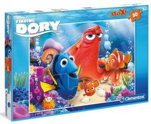 Podlahové puzzle Clementoni 30  dílků MAXI  - Hledá se Dory 07433