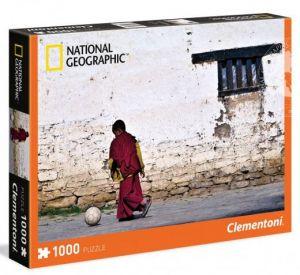 Puzzle Clementoni 1000 dílků - National Geografic - Mladý Budhistický mnich  39355