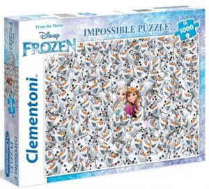 Puzzle Clementoni 1000 dílků - Nekoneční Frozen  39360