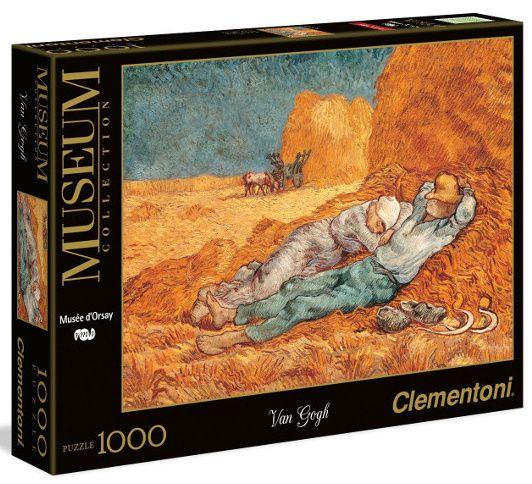 Puzzle Clementoni 1000 dílků - Van Gogh - Siesta - 39290