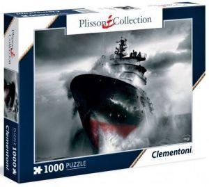 Puzzle Clementoni 1000 dílků - Záchrana na moři 39351