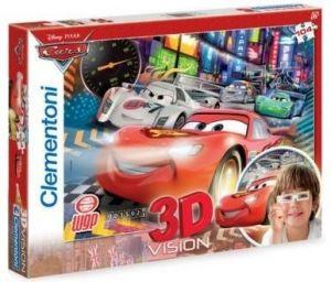 Puzzle Clementoni 104 dílků  3D - CARS 2   20044