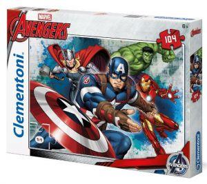 Puzzle Clementoni 104 dílků  -  Avengers   27973