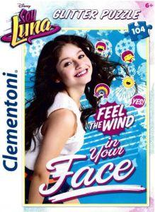 Puzzle Clementoni  - 104 dílků  Glitter  - Soy Luna   20137