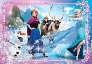 Puzzle Clementoni - 104 dílků Jewels - Frozen 20133