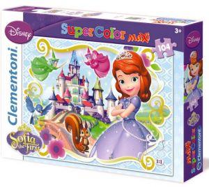 Puzzle Clementoni 104 dílků MAXI - Princezna Sofie  23651