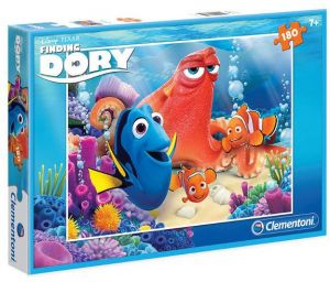 Puzzle Clementoni 180 dílků  - Hledá se Dory   07334