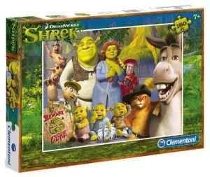 Puzzle Clementoni 180 dílků  - Shrek    07332