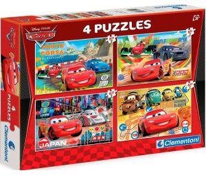 Puzzle Clementoni 2 x 20  a  2 x 60 dílků   CARS  07602