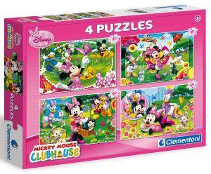 Puzzle Clementoni 2 x 20  a  2 x 60 dílků   Mickey Mouse   07603