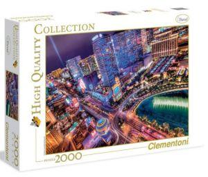 Puzzle Clementoni 2000 dílků - Las Vegas 32555