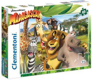 Puzzle Clementoni 60 dílků  -  Madagaskar  26944