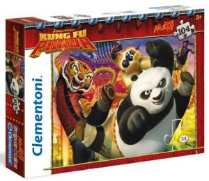Puzzle Clementoni  MAXI  - 104 dílků  -  Kung Fu Panda  23693