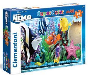 Puzzle Clementoni  MAXI  - 24 dílků  - Nemo - Finding  24472