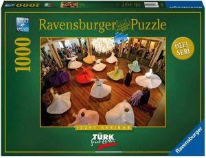 Puzzle Ravensburger 1000 dílků - Tančící dervišové  193318