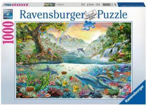 Puzzle Ravensburger 1000 dílků - V ráji  194841