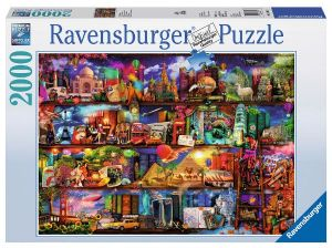 Puzzle Ravensburger - 2000 dílků   Svět knih   166855